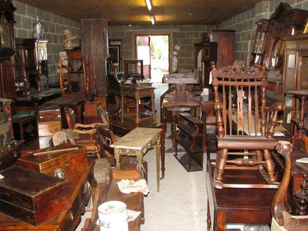 entsorgung von alten möbel