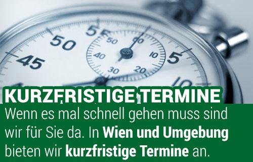 Kurzfristige Termine bei Wohnungsräumungen Wien